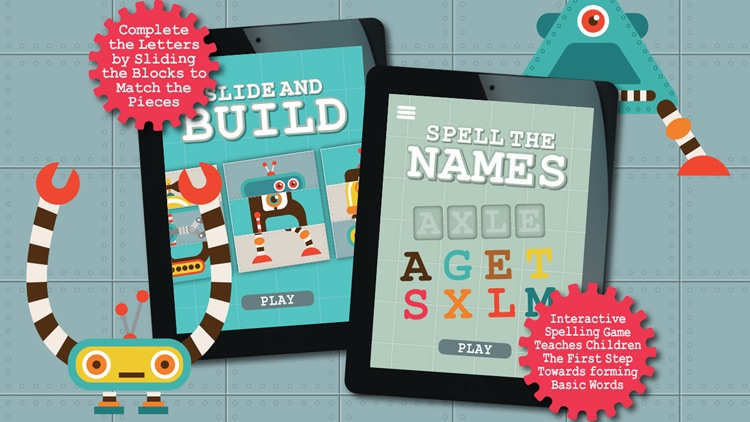 Alphabots ABC - Alphabet learning games & activities for preschool kids screenshot-3