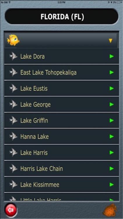 Fishing Lakes-USA screenshot-4