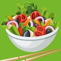 完美蔬菜沙拉大全 - 健康减肥瘦身美食沙拉菜谱