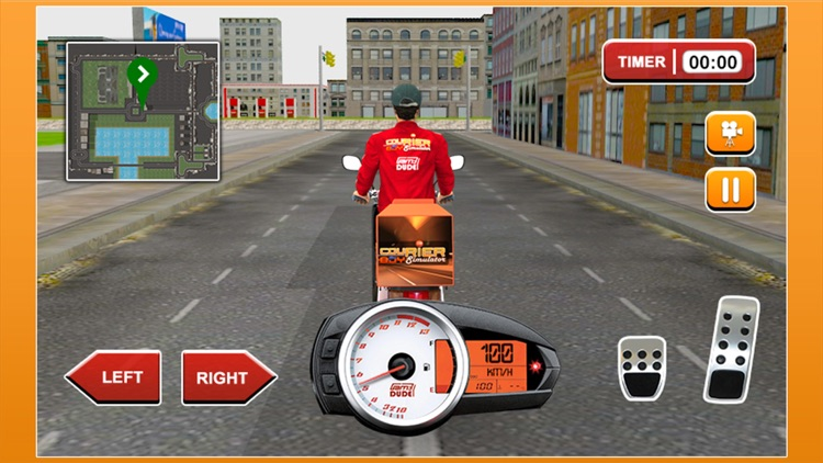 3D Courier Boy Simulator - Best courier, postal service and rider simulation game screenshot-3