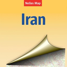 Iran. Tourist map.