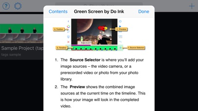 Screenshot for Green Screen by Do Ink in Singapore App Store