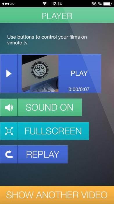 vimote - your remote videoScreenshot von 4