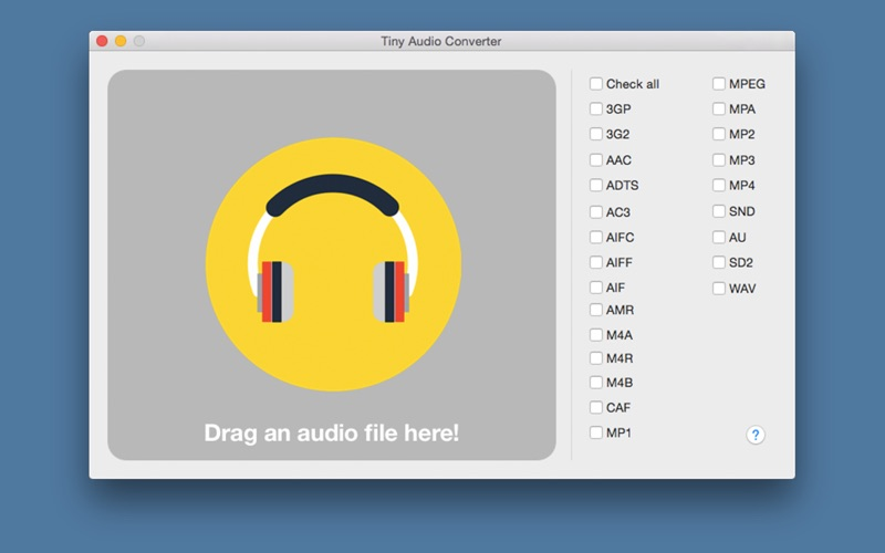 Tiny Audio Converter