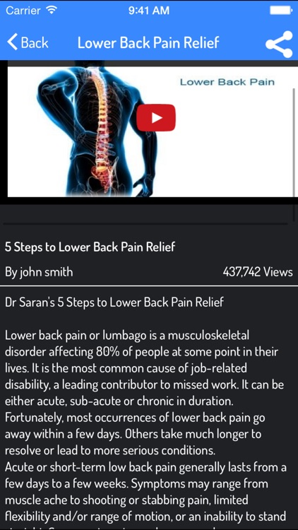 How To Relieve Back Pain - Back Pain Relieving Guide