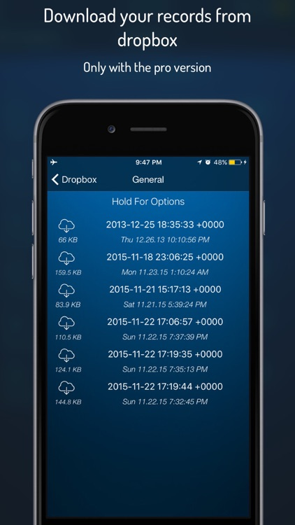 Q-Recorder Pro - Voice Recorder screenshot-2