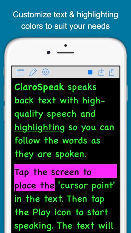 ClaroSpeak Plus screenshot-2