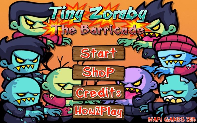 Tiny Zomby The Barricade screenshot 2