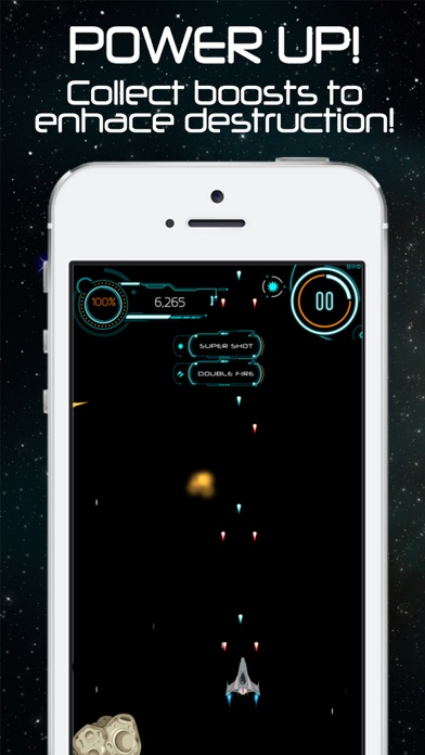 Impossible Space Shooter - Endless Galaxy Game Arcade screenshot three