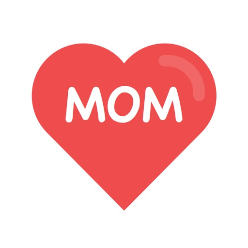 Mother's Day Photo Stickers - with Facebook & Instagram Sharing icon