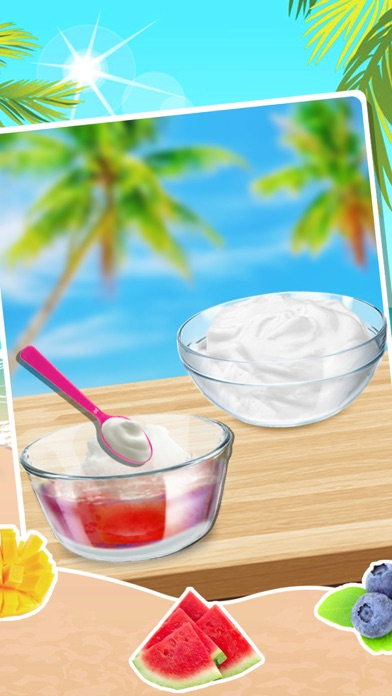 Summer Chef - Frozen Yogurt Maker screenshot three