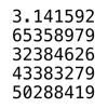 Taichi Kobayashi - Pi : π 円周率100万桁 アートワーク