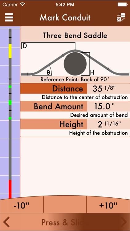 RIGID: Conduit Bending Calculator
