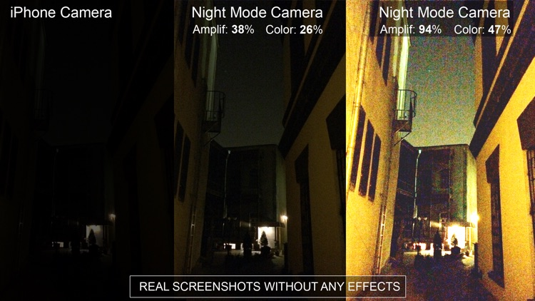 "Night Vision"" (Photos and Videos in low light) screenshot-3"