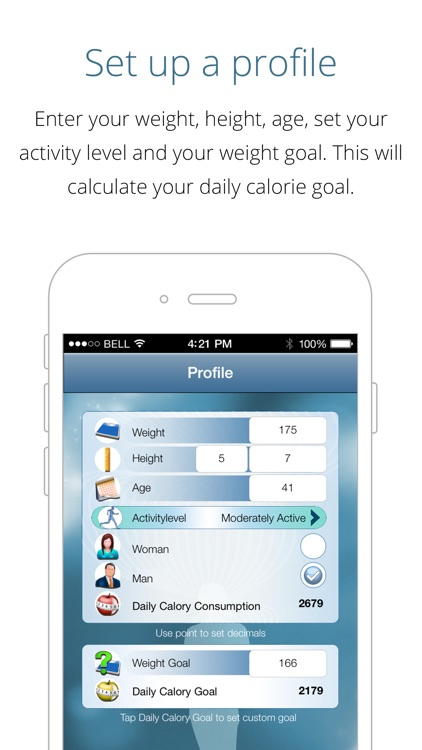 Calorie Counter Free - lose weight, gain fitness, track calories and reach your weight goal with this app as your pal