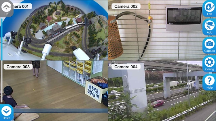 IP Cam viewer for Panasonic cameras screenshot-1