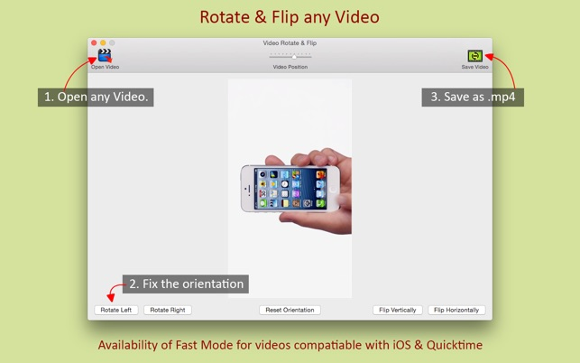 Video rotate flip on the mac app store screenshots ccuart Image collections