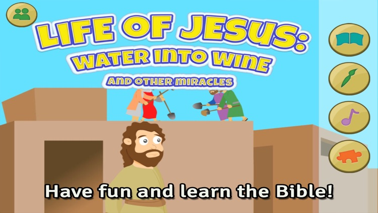 Life of Jesus: Water into Wine and Other Miracles