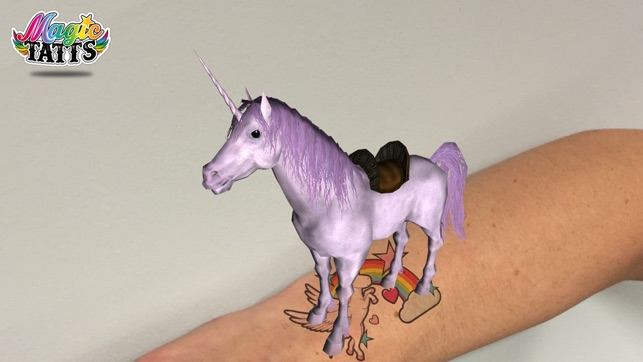 Magic Tatts Augmented Reality Tattoos In De App Store