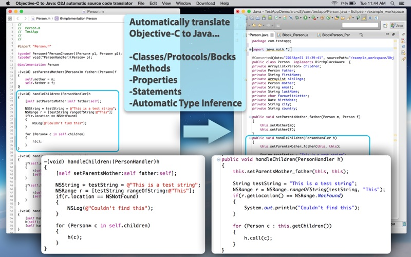 Objective C To Java review screenshots