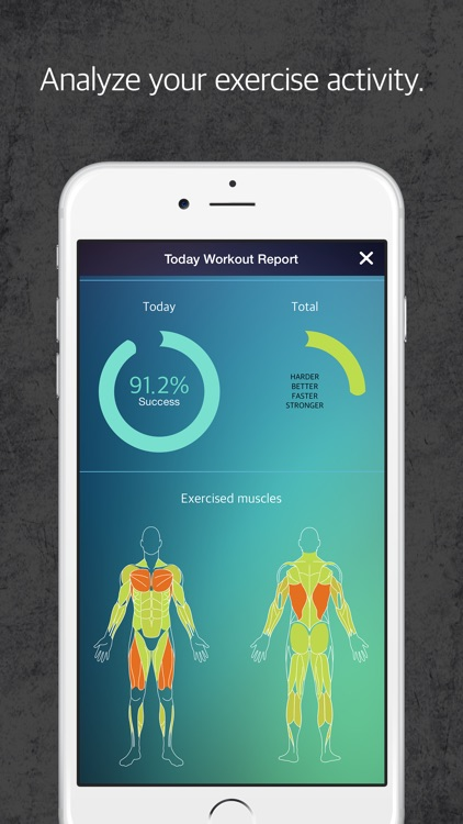 HBFS : Harder Better Faster Stronger is a fitness tracker for your body strength screenshot-3