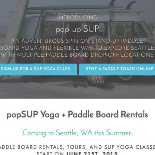 popSUP Seattle Yoga + Rentals