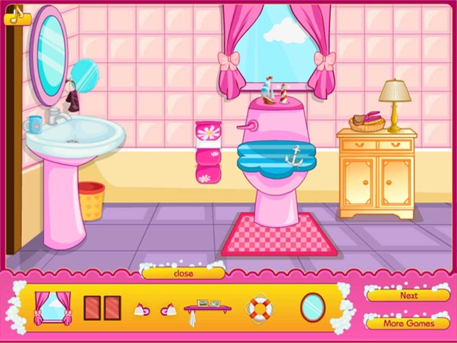 Beauty Clean Toilet, game for IOS