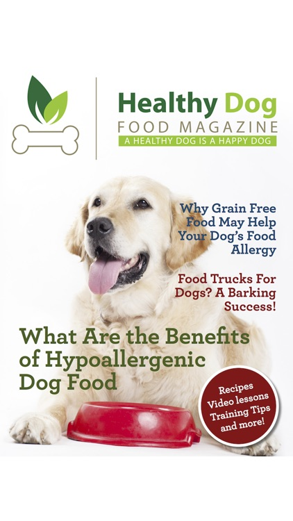 Healthy Dog Food Magazine