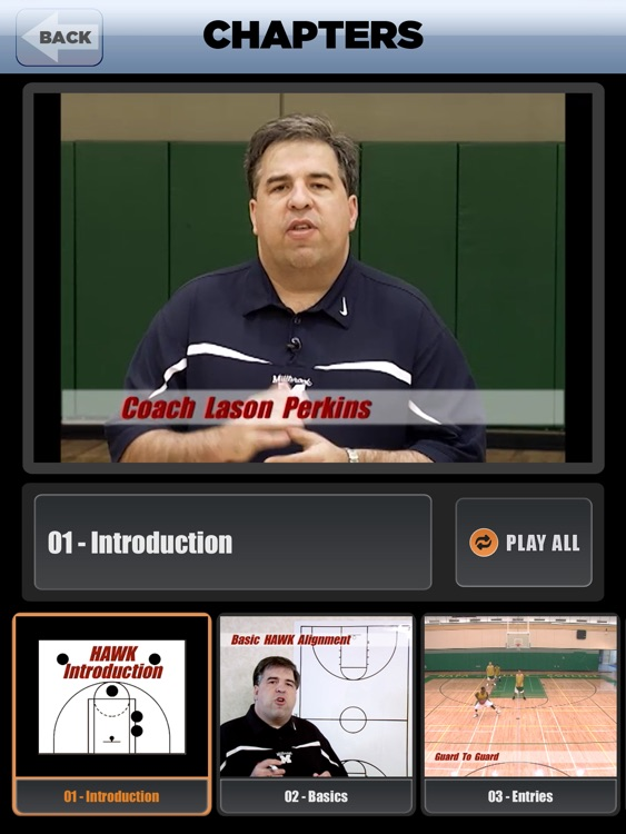 HAWK Offense: Scoring Playbook - with Coach Lason Perkins - Full Court Basketball Training Instruction - XL screenshot-1