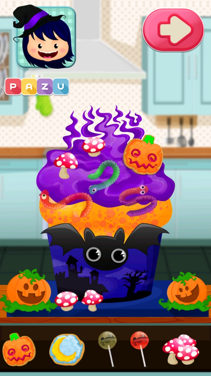 Cupcake Chefs - Making & Cooking Cupcakes Games for Kids, by Pazu Screenshot