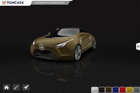 TenCate Advanced Composites - 3D car explorer screenshot 4