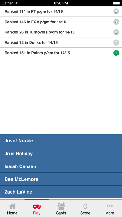 Hoops Who 14-15 Pro Basketball Trivia screenshot three