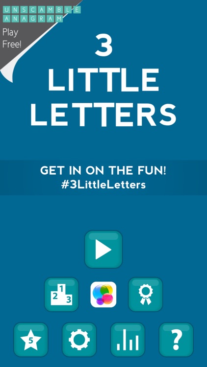 3 Little Letters Pro - Unscramble Words screenshot-4