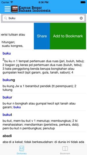 Kbbi kamus besar bahasa indonesia on the app store stopboris Choice Image
