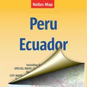 Перу, Эквадор. Туристическая карта.