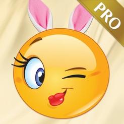 Adult Emoji Icons PRO - Romantic Texting & Flirty Emoticons Message Symbols  17+