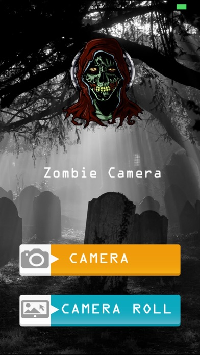 Zombie Camera - Free screenshot one