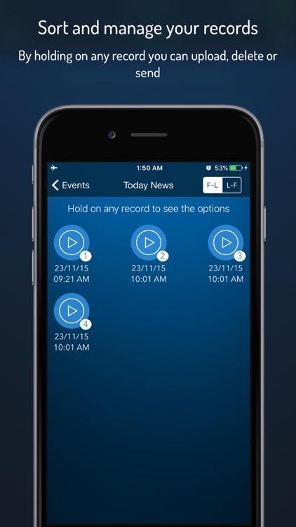 Q-Recorder - Voice Recorder screenshot-4