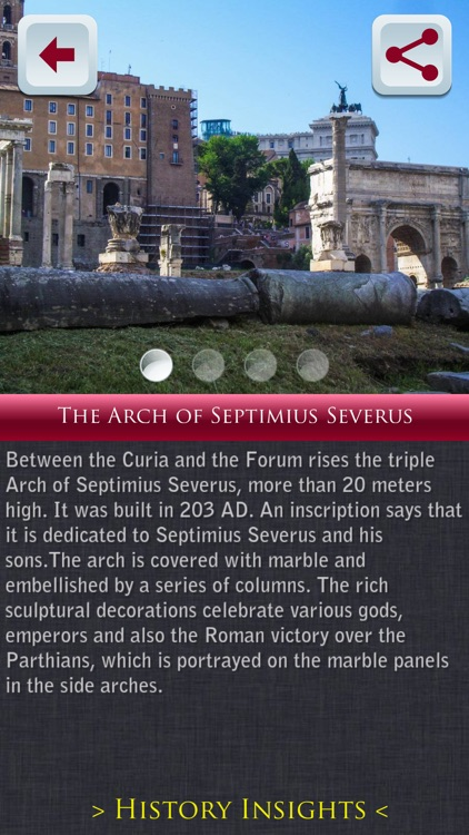 Roman Forum Tour Guide screenshot-4
