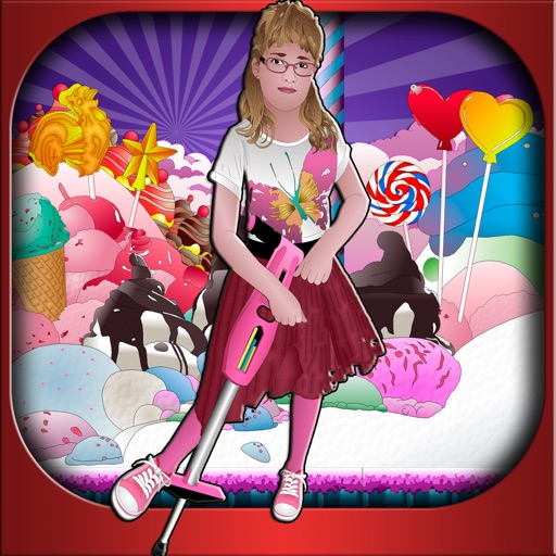 Nea's Pogo Jump Challenge in Magical Sugar Land