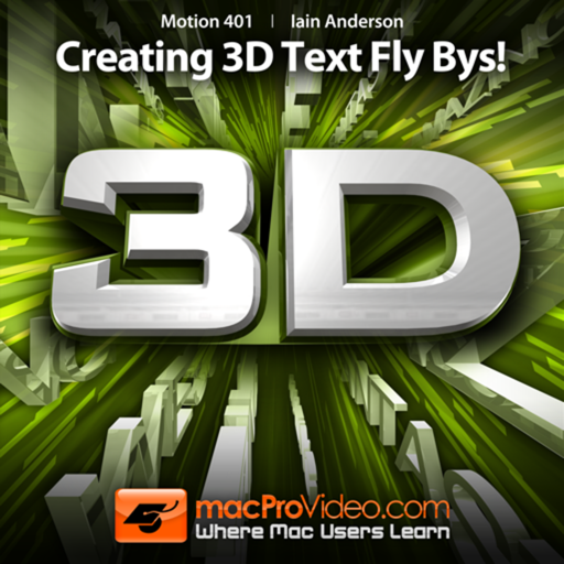 Course For Motion 5 401 - Creating 3D Text Fly Bys!