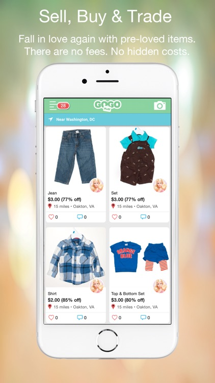 GogoPlay. Buy, Sell Kids Items screenshot-0