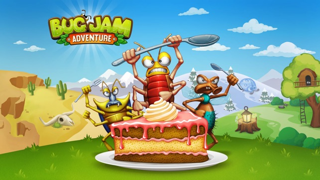 ‎Bug Jam Adventure Screenshot