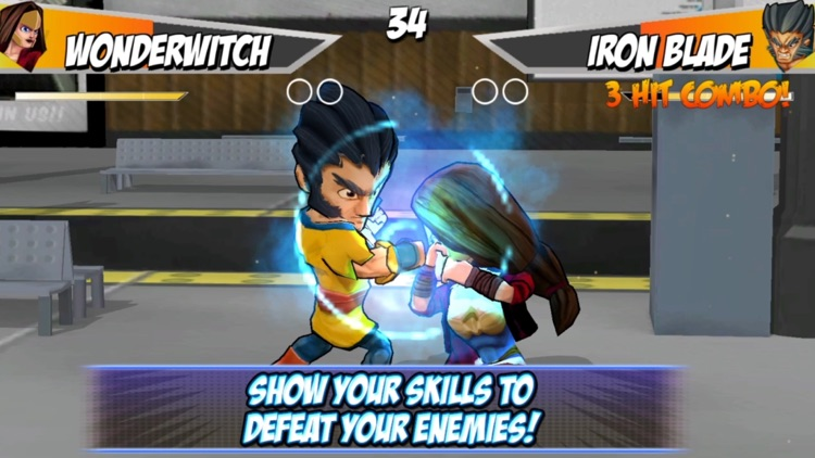 Superheros 2 Free fighting games screenshot-3