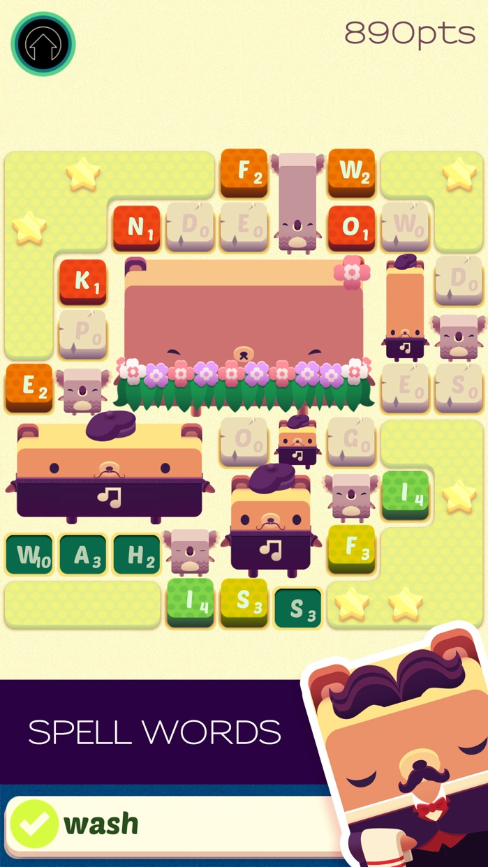 Alphabear: Word Puzzle Game Screenshot