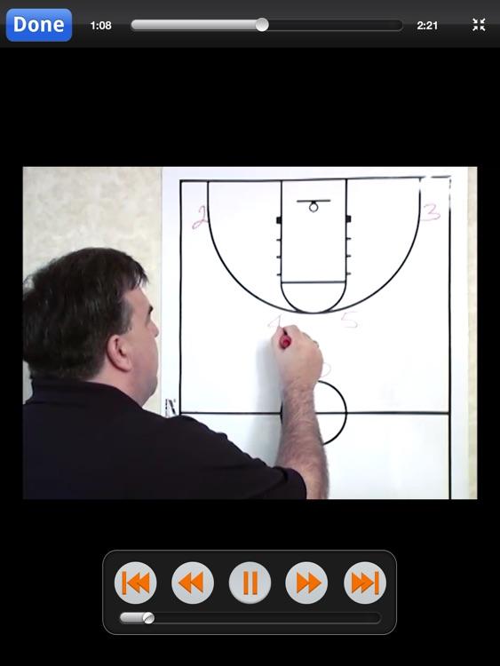 The A Set Offense: Scoring Playbook - with Coach Lason Perkins - Full Court Basketball Training Instruction - XL screenshot-3