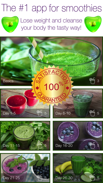 30 Day Smoothie and Juice fastのおすすめ画像1