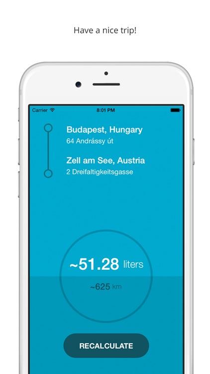 Mileagie - Car mileage calculator screenshot-3