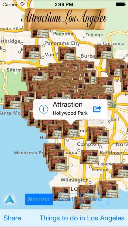 Attractions Los Angeles
