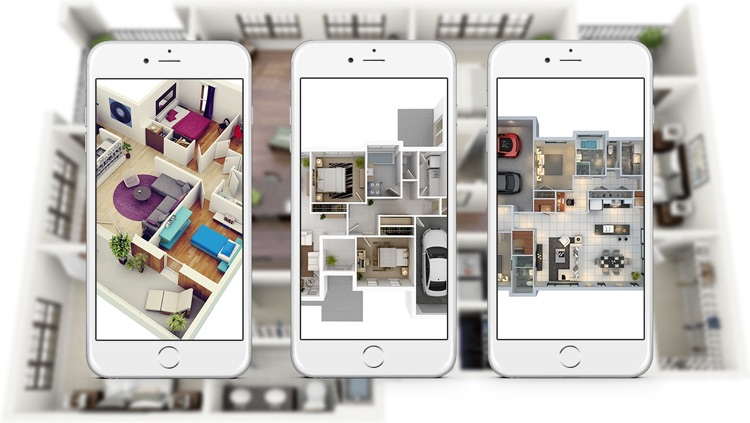 Apartment Design Ideas - Includes Floor Plans screenshot-3